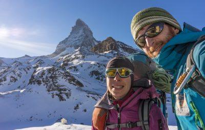 Matterhorn Hörnligrat Winterbesteigung