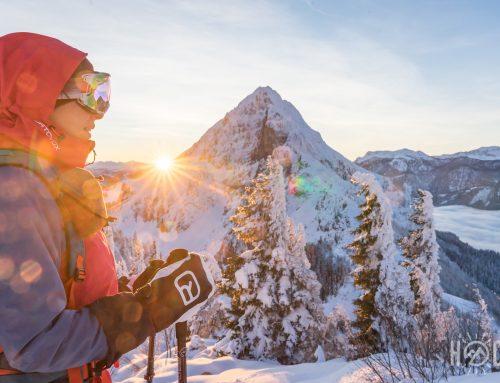 Karleck, ein kleiner Winterzauber (Skitour)