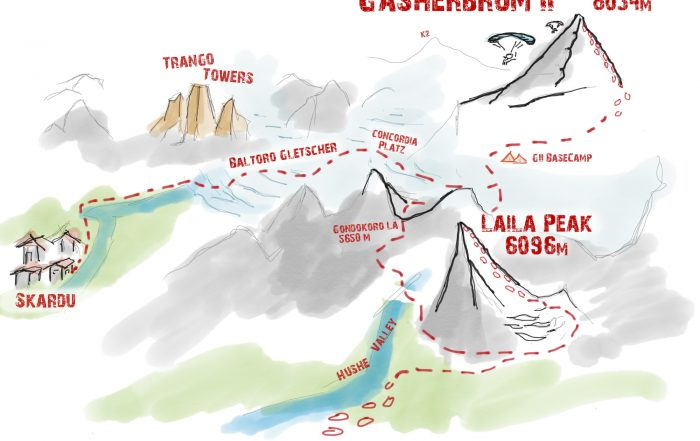 Expedition Gasherbrum II & Laila Peak