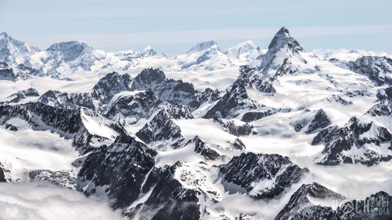 Grand Combin Überschreitung Ski