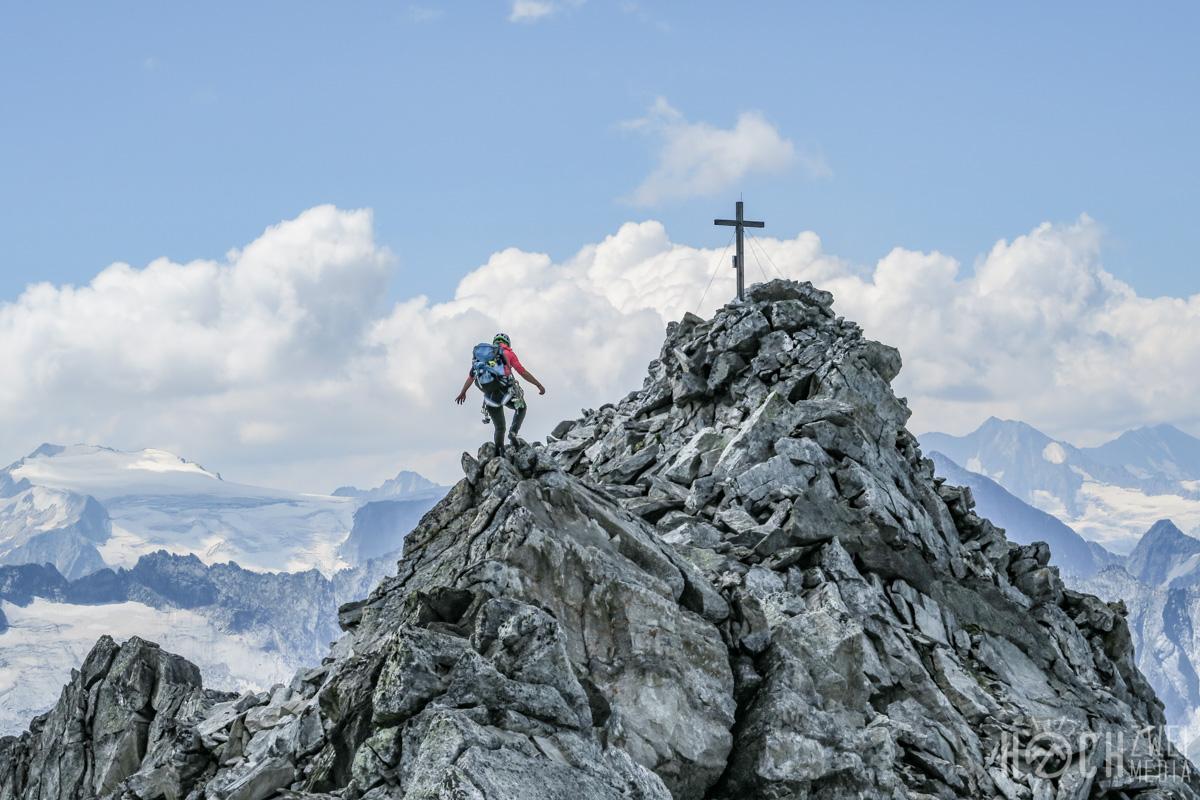 Grundschartner Nordkante Klettern