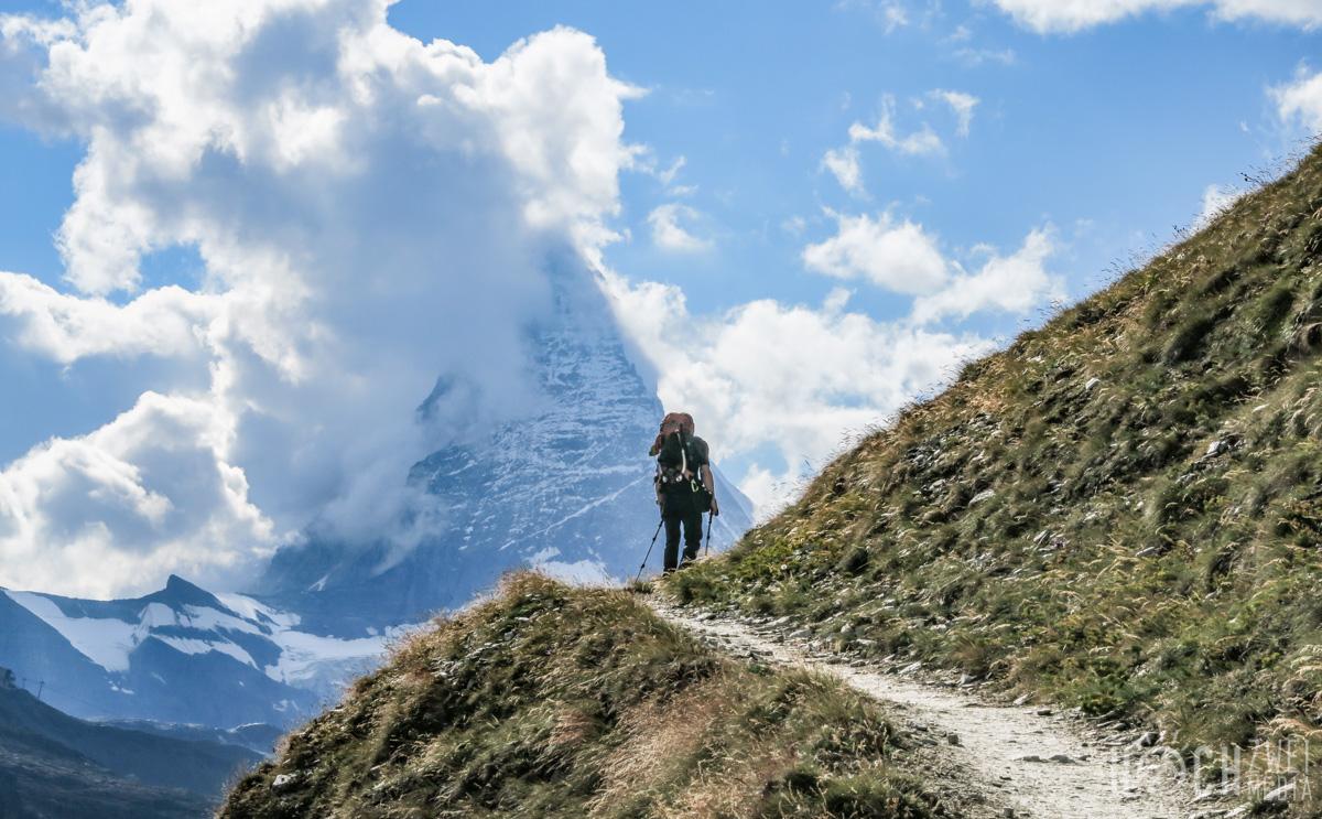 Lyskamm-Überschreitung Wallis Weg Rotenboden Matterhorn