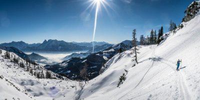 Skitour auf den Scheiblingstein (2197 m), Haller Mauern (OÖ/Stmk) Sonnensüchtig? Hier bist du richtig.