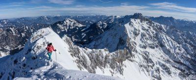 Kreuzmauer Skitour Haller Mauern