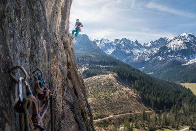 Klettern Kampermauer