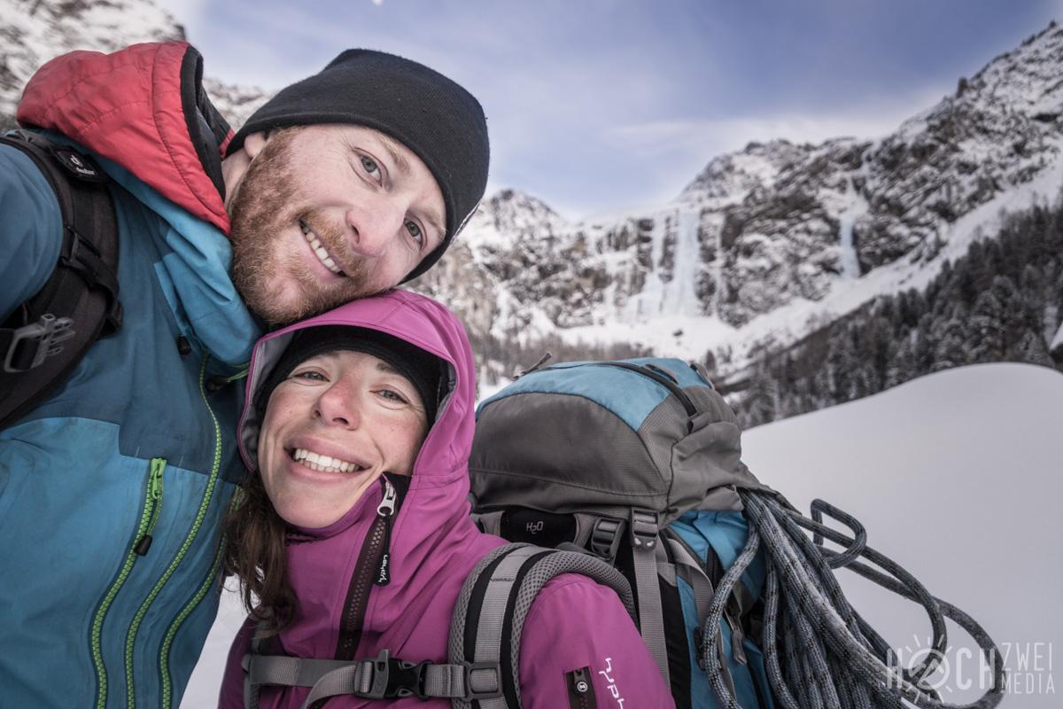 Eisklettern Renkfall Renkfälle Oberinntal