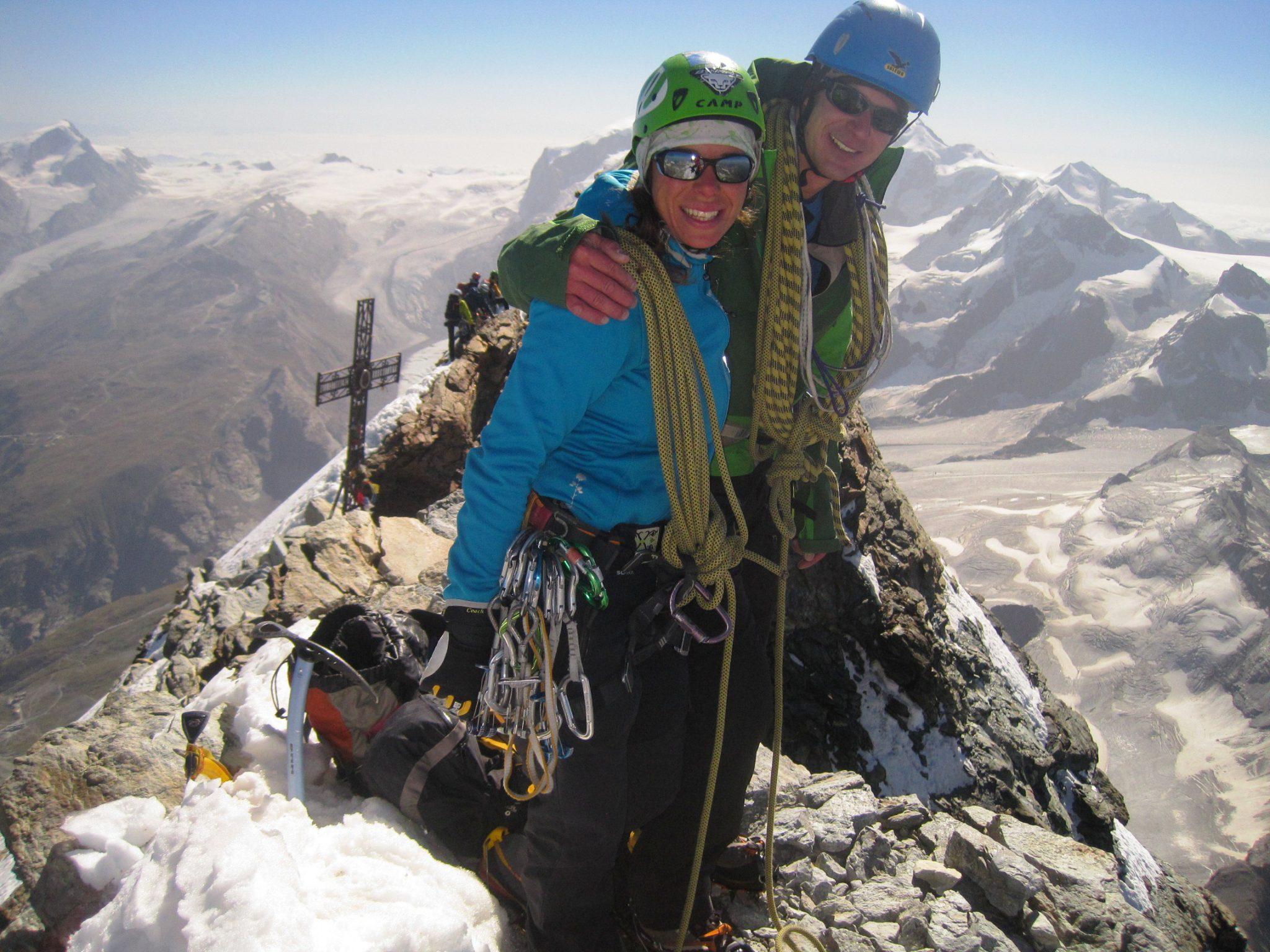 Matterhorn via Zmuttgrat Gipfel