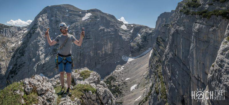 Klettern Schobertal Klarheit eines Herbsttages Hinterstoder