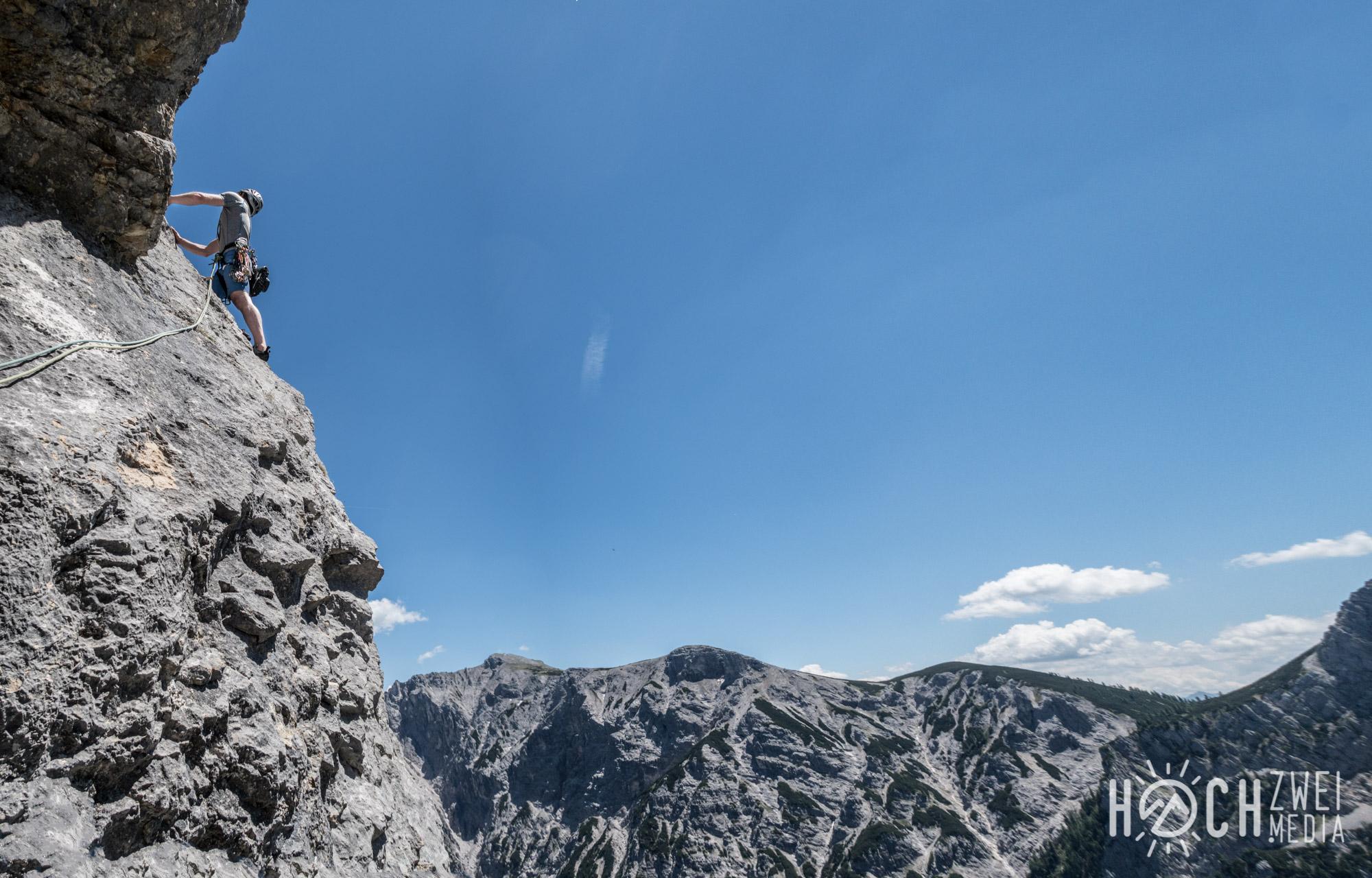 Klettern schobertal hinterstoder An die Klarheit eines Herbsttages