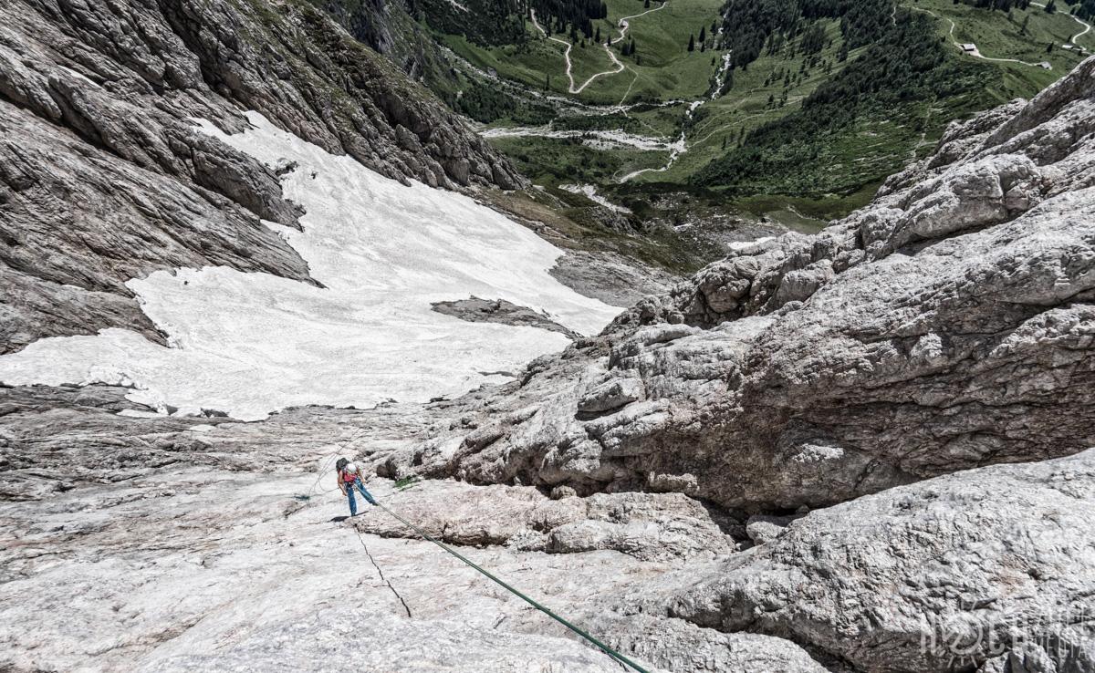 Weg der Chaoten Großer Bratschenkopf Hochkönig-Massiv