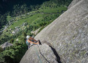 Luna Nascente Traumtour im Val di Mello Klettern