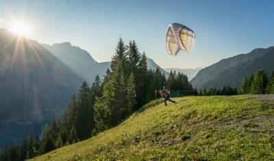 Startplatz bei der Karwendelbahn