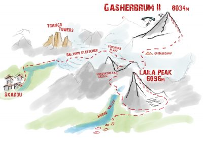 Expedition Gasherbrum II & Laila Peak