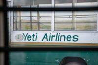 Die erste Schlüsselstelle einer Expedition ist schon oft die Anreise. Mit Yeti-Airlines ging's mit einem Inlandsflug nach Lukla.