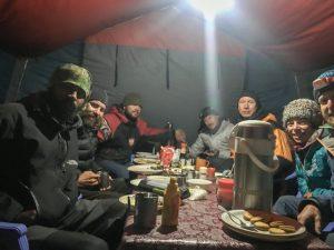 Gipfeltorten-Essen bei Felix Berg und Adam Bielecki
