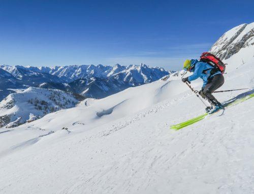 Selten schön: Skitouren im Sengsengebirge