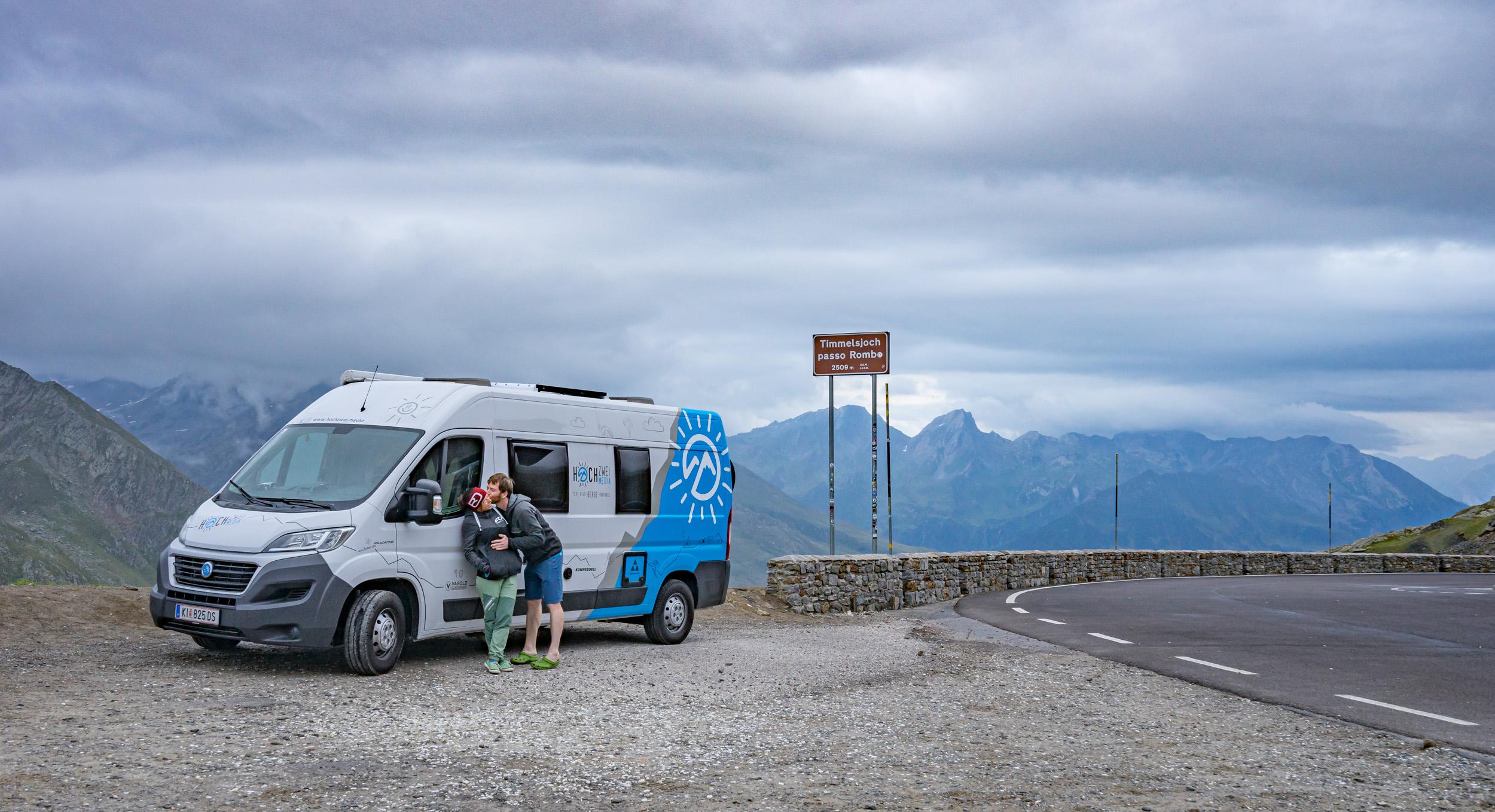 Bussi am Timmelsjoch