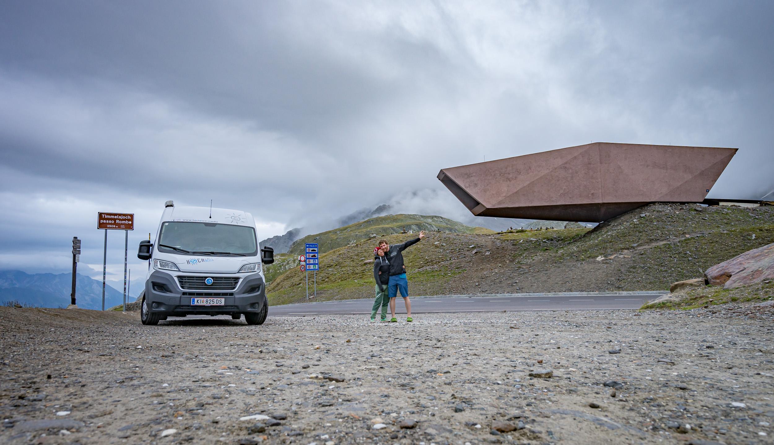 Grenzgänger zwischen Nordtirol und Südtirol