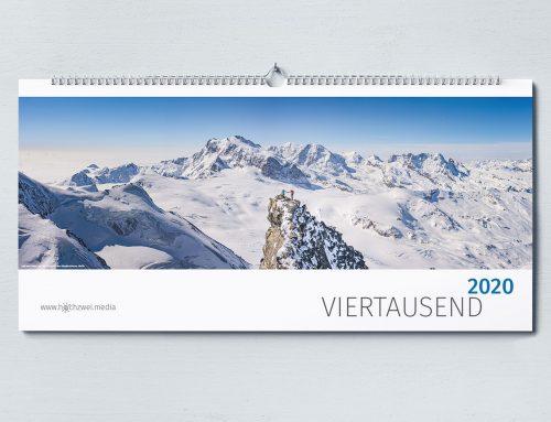 Kalender – Viertausend 2020 (gut, aber aus!)