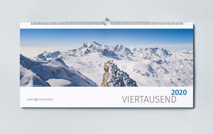 Kalender Viertausend 2020