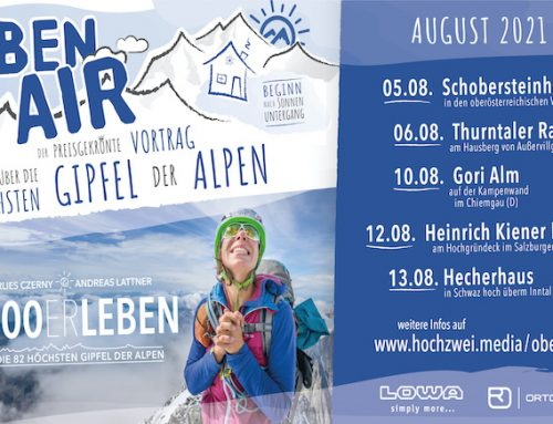 Oben Air: 4000ERLEBEN live am Berg